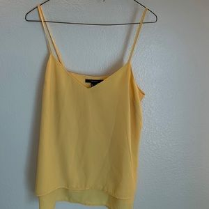 Yellow Flowy Tank